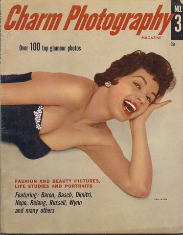 Charm PHOTOGRAPHY #3 1956 Gwen Verdon Elsa Martinelli Kim Novak Jean Simmons Glamour Nude Pin Up