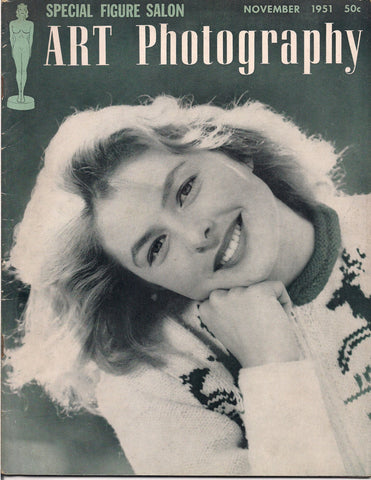 Art PHOTOGRAPHY 1951Glamour Pin Up NUDES Carlyle Blackwell, Federico Vender Andre De Dienes Peter Samerjan Greg Jordan & Savitry