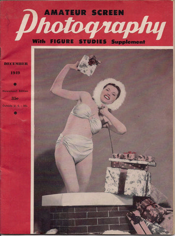 Amateur Screen PHOTOGRAPHY with Figure Studies 1949 Guide to Home 8mm 16mm Film Making plus Pin-Up & NUDES