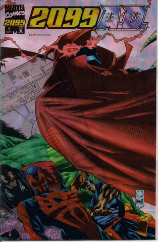 2099 A.D. #1 Marvel Comics Terry Kavanagh Marc Campos See Through Mylar & Glitter foil cover