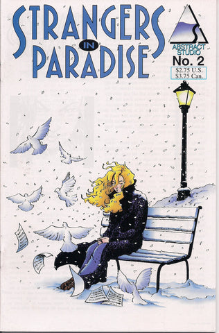 STRANGERS In PARADISE #2 Terry Moore Abstract Studio Volume 2 Second Series 1994