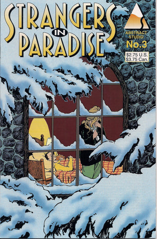 STRANGERS In PARADISE #3 Terry Moore Abstract Studio Volume 2 Second Series 1994