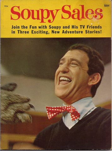 SOUPY SALES Cult KidVid Children Kiddie Kid TV Superstar 1965 Illustrated Wonder Book