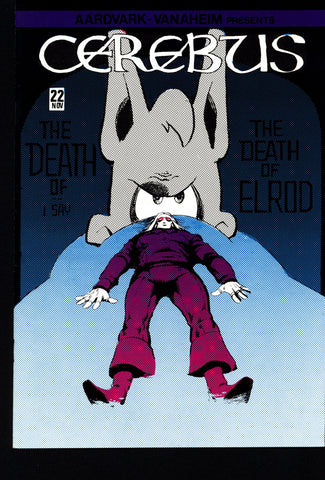 CEREBUS the Aardvark #22 DAVE SIM Aardvark-Vanaheim Fan Favorite Cult Self Published Alternative Conan the Barbarian Parody Comic Book
