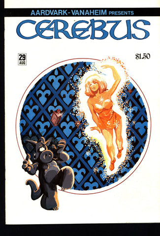 CEREBUS the Aardvark #29 DAVE SIM Aardvark-Vanaheim Fan Favorite Cult Self Published Alternative Conan the Barbarian Parody Comic Book