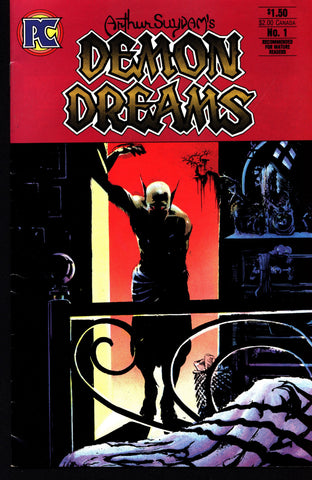 Arthur Suydam's DEMON DREAMS #1 Pacific Comics 1984 HORROR Fantasy anthology stories from Heavy Metal Magazine