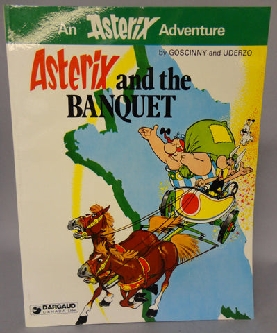 ASTERIX and the Banquet GOSCINNY and UDERZO Obelix Darguard Int Pub Ltd