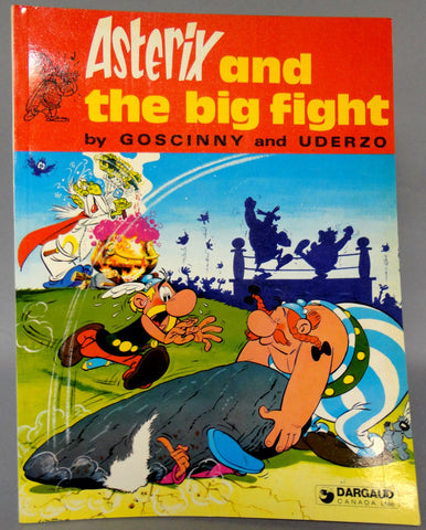 ASTERIX and The Big Fight GOSCINNY and UDERZO Obelix Darguard Int Pub Ltd