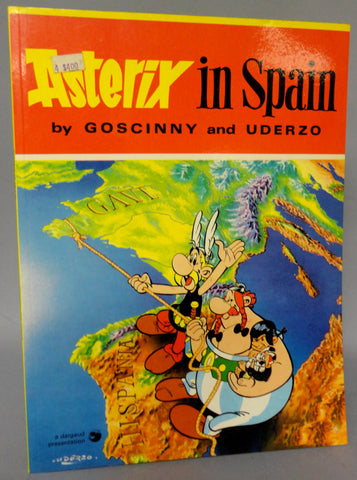 ASTERIX in Spain GOSCINNY and UDERZO Obelix Hodder and Stoughton Darguard Int Pub Ltd