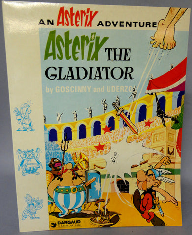 ASTERIX The Gladiator GOSCINNY and UDERZO Obelix Hodder and Stoughton Darguard Int Pub Ltd
