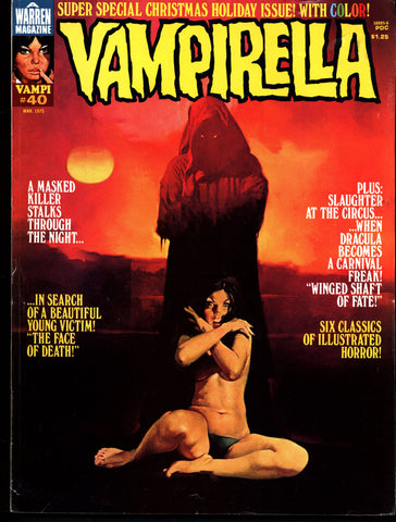VAMPIRELLA  #40  Jose Gonzalez Rafael Auraleon Esteban Maroto Jose Ortiz Sexy Blood Sucking Vampire Cult Anti-Hero