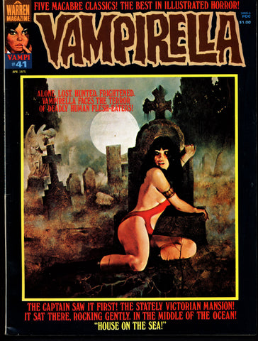 VAMPIRELLA  #41  Jose Gonzalez Rafael Auraleon Esteban Maroto Jose Ortiz Sexy Blood Sucking Vampire Cult Anti-Hero