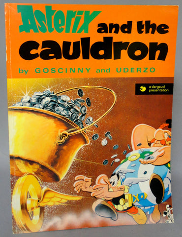 ASTERIX and the Cauldron GOSCINNY and UDERZO #17 Obelix Darguard Int Pub Ltd