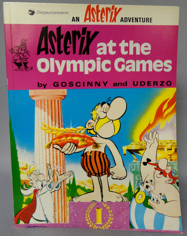 ASTERIX At the Olympic Games GOSCINNY and UDERZO Obelix Darguard Int Pub Ltd
