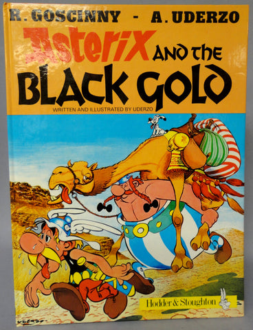 ASTERIX and the Black Gold Hardcover GOSCINNY and UDERZO Obelix Darguard Int Pub Ltd