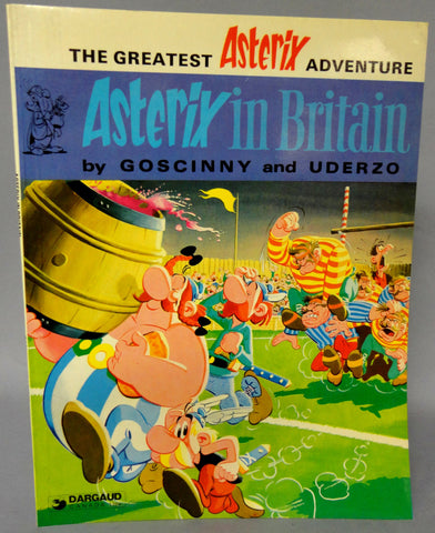 ASTERIX in Britain GOSCINNY and UDERZO Obelix Hodder and Stoughton Darguard Int Pub Ltd