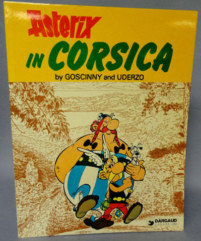ASTERIX in Corsica GOSCINNY and UDERZO Obelix Hodder and Stoughton Darguard Int Pub Ltd