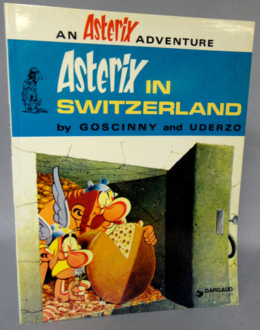 ASTERIX in Switzerland GOSCINNY and UDERZO Obelix Hodder and Stoughton Darguard Int Pub Ltd