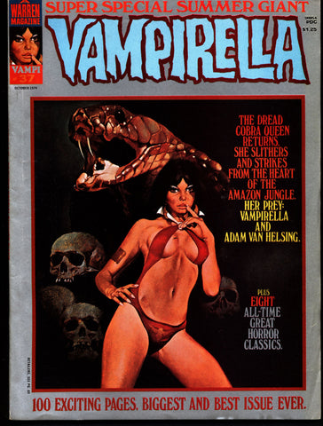 VAMPIRELLA  #37  Jose Gonzalez Rafael Auraleon Jose Ortiz Sexy Blood Sucking Vampire Cult Anti-Hero