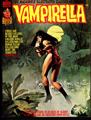 VAMPIRELLA  #42  Jose Gonzalez Rafael Auraleon Esteban Maroto Jose Ortiz Sexy Blood Sucking Vampire Cult Anti-Hero