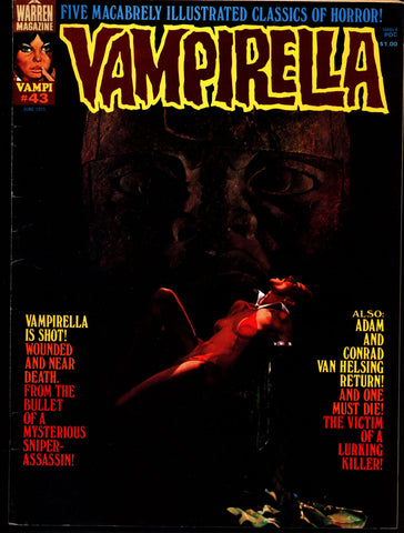 VAMPIRELLA  #43  Jose Gonzalez Rafael Auraleon Esteban Maroto Jose Ortiz Sexy Blood Sucking Vampire Cult Anti-Hero