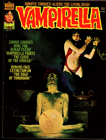 VAMPIRELLA  #51 Jose Gonzalez Rafael Auraleon Esteban Maroto Jose Ortiz Sexy Blood Sucking Vampire Cult Anti-Hero