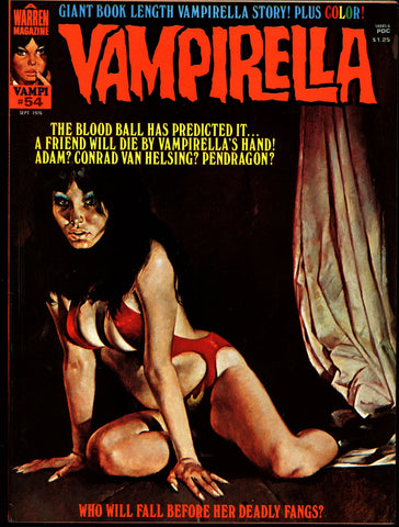 VAMPIRELLA  #54 Jose Gonzalez Rafael Auraleon Esteban Maroto Jose Ortiz Sexy Blood Sucking Vampire Cult Anti-Hero