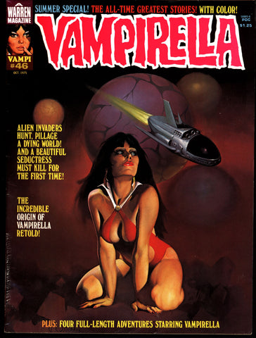 VAMPIRELLA  #46  Jose Gonzalez Rafael Auraleon Esteban Maroto Jose Ortiz Sexy Blood Sucking Vampire Cult Anti-Hero