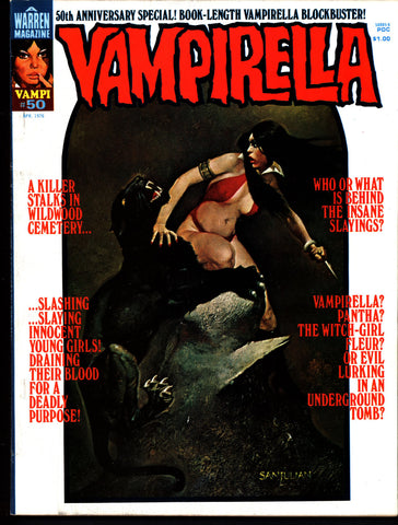 VAMPIRELLA  #50 Will Eisner SPIRIT Jose Gonzalez Rafael Auraleon Esteban Maroto Jose Ortiz Sexy Blood Sucking Vampire Cult Anti-Hero