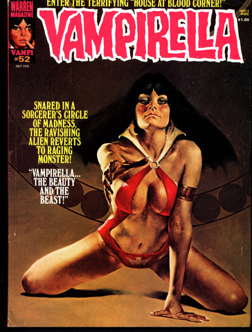 VAMPIRELLA  #52 Jose Gonzalez Rafael Auraleon Esteban Maroto Jose Ortiz Sexy Blood Sucking Vampire Cult Anti-Hero