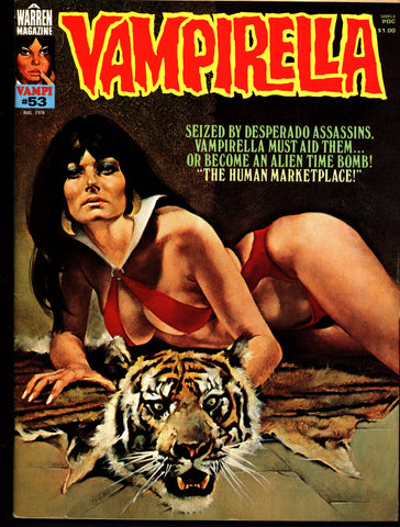 VAMPIRELLA  #53 Jose Gonzalez Rafael Auraleon Esteban Maroto Jose Ortiz Sexy Blood Sucking Vampire Cult Anti-Hero