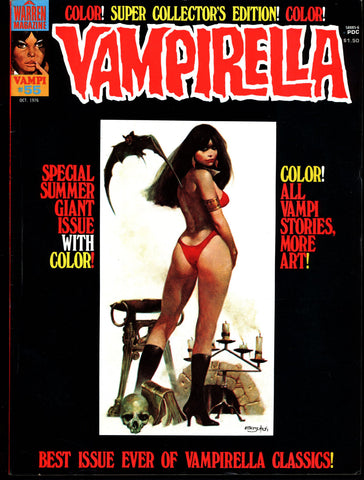 VAMPIRELLA  #55 Jose Gonzalez Rafael Auraleon Esteban Maroto Jose Ortiz Sexy Blood Sucking Vampire Cult Anti-Hero