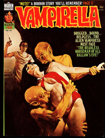 VAMPIRELLA  #56 Jose Gonzalez Rafael Auraleon Esteban Maroto Jose Ortiz Sexy Blood Sucking Vampire Cult Anti-Hero