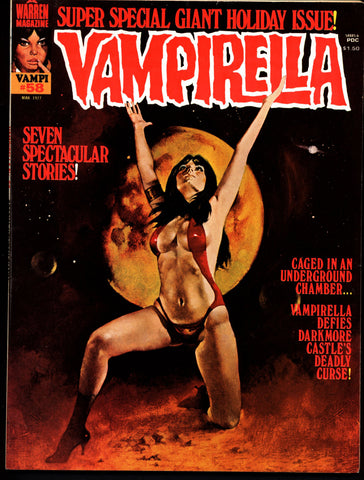 VAMPIRELLA  #58 Jose Gonzalez Rafael Auraleon Esteban Maroto Jose Ortiz Sexy Blood Sucking Vampire Cult Anti-Hero