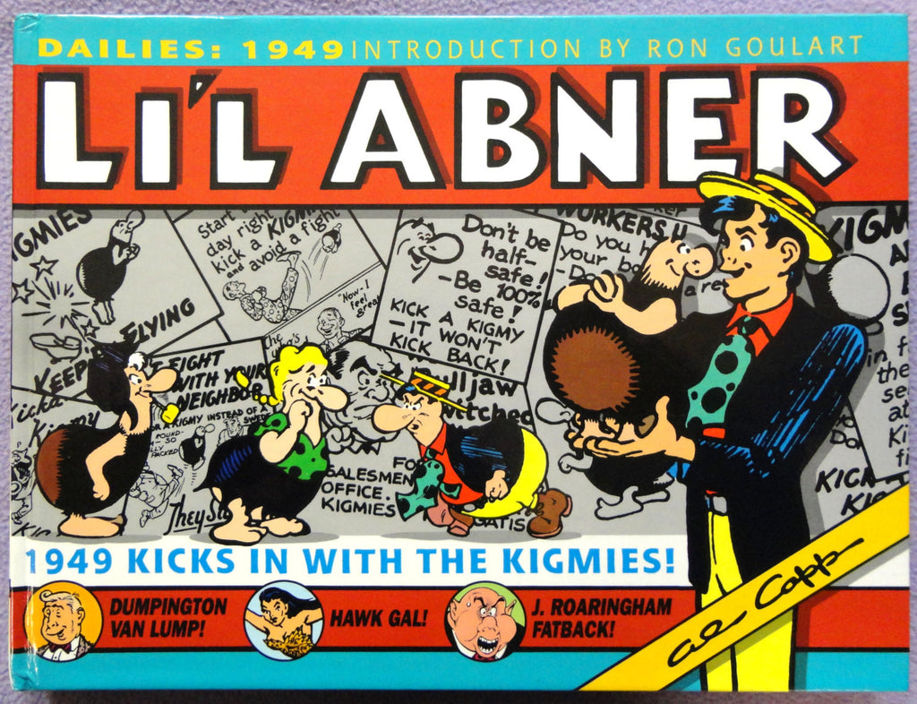 Al Capp L\'IL ABNER #15 KIGMIES Ron Goulart Introduction Hardcover ...
