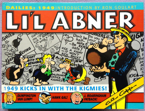 Al Capp L'IL ABNER #15 KIGMIES Ron Goulart Introduction Hardcover Kitchen Sink Newspaper Daily Comic Strips Collection