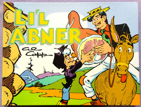 Al Capp L'IL ABNER #17 Fearless Fosdick Hardcover Kitchen Sink Newspaper Daily Comic Strips Collection