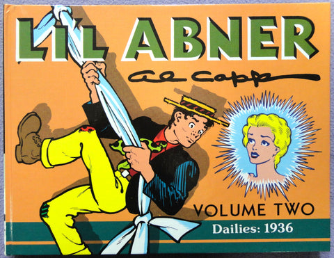 Al Capp L'IL ABNER #2 1936 Milton Caniff Introduction Hardcover Kitchen Sink Newspaper Daily Comic Strips