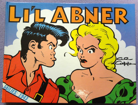Al Capp L'IL ABNER #9 1943 Sadie Hawkins Day Hardcover Kitchen Sink Newspaper Daily Comic Strips
