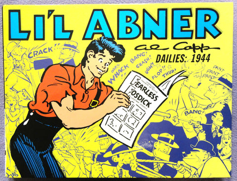 Al Capp L'IL ABNER #10 1944 Frank SINATRA Parody Fearless Fosdick Max Allan Collins Kitchen Sink Newspaper Daily Comic Strips