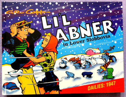 Al Capp L'IL ABNER #13 in Lower Slobbovia Hardcover Kitchen Sink Newspaper Daily Comic Strips Collection