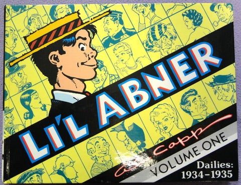 Al Capp L'IL ABNER #1 1934-1935 Hardcover Kitchen Sink Newspaper Daily Comic Strips
