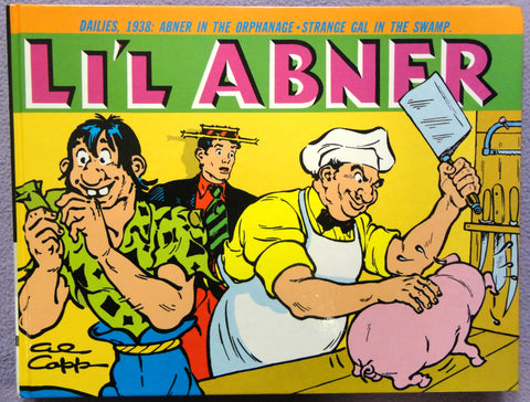 Al Capp L'IL ABNER #4 1938 Al Williamson Introduction Hardcover Kitchen Sink Newspaper Daily Comic Strips