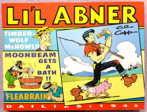 Al Capp L'IL ABNER #11 1945 Orson Welles Radio Parody Moonbeam McSwine Kitchen Sink Newspaper Daily Comic Strips