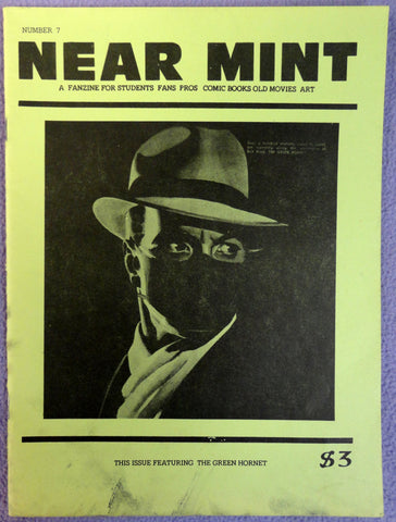 NEAR MINT #7 Pop Culture Nostalgia Fanzine Green Hornet Special  Comic by Jerry Robinson