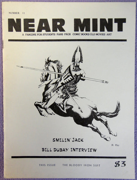 NEAR MINT #11 Pop Culture Nostalgia Fanzine Smilin' Jack Bill Dubay Warrior Knight Armor