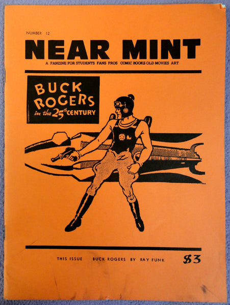 NEAR MINT #12 Pop Culture Nostalgia Fanzine Buck Rogers Pulps Comics Movies Stony Craig of the Marines WW2