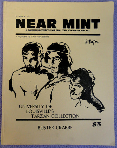 NEAR MINT #33 Pop Culture Nostalgia Fanzine Edgar Rice Burroughs TARZAN Buster Crabbe Frazetta Johnny Weismuller Flash Gordon