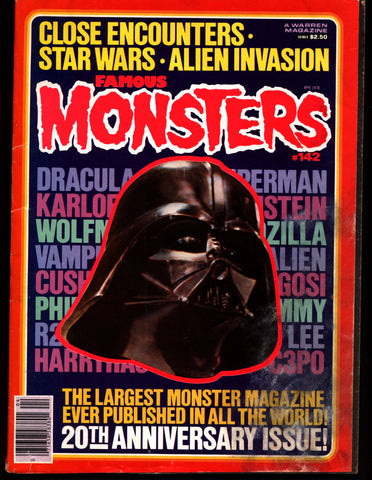 FAMOUS MONSTERS 142 Giant Size Star Wars Close Encounters of the 3rd Kind Alien