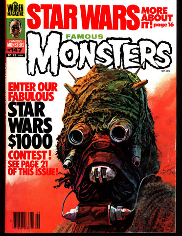 FAMOUS MONSTERS 147 Star Wars Science Fiction Fantasy Classic Hammer Studios Horror